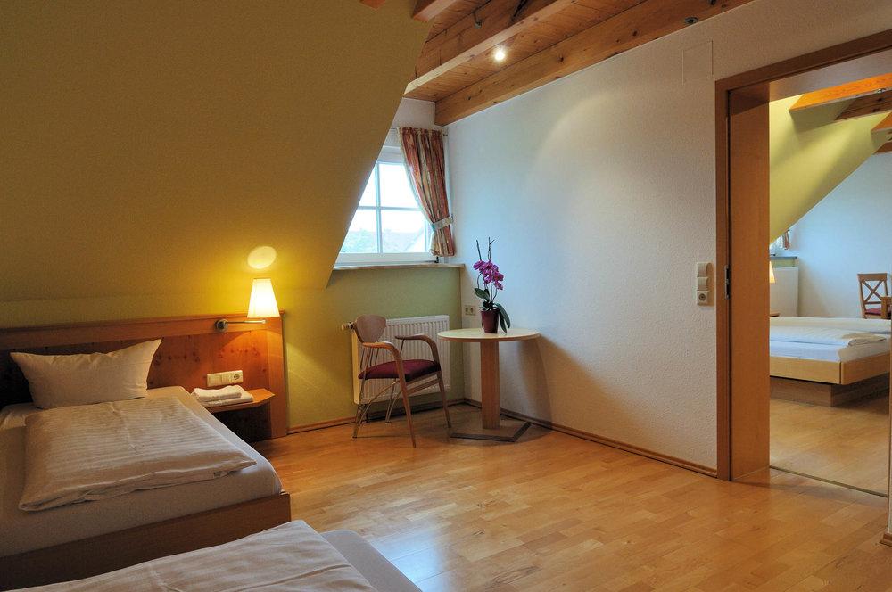 Familienzimmer im Gasthaus Seerose in Nitzenweiler bei Kressbronn am Bodensee