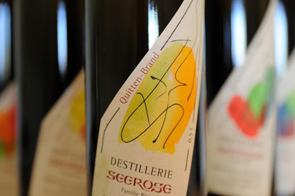 Quitten Edelbrand - Destillerie & Brennerei Seerose