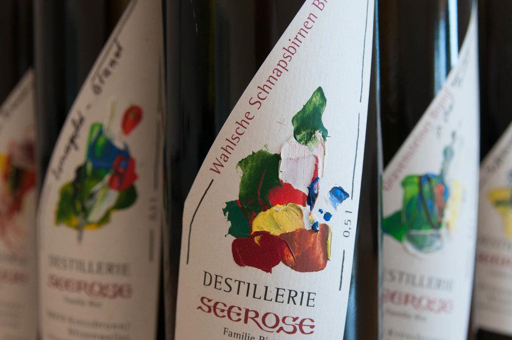 Wahlsche Schnapsbirne Edelbrand - Destillerie & Brennerei Seerose