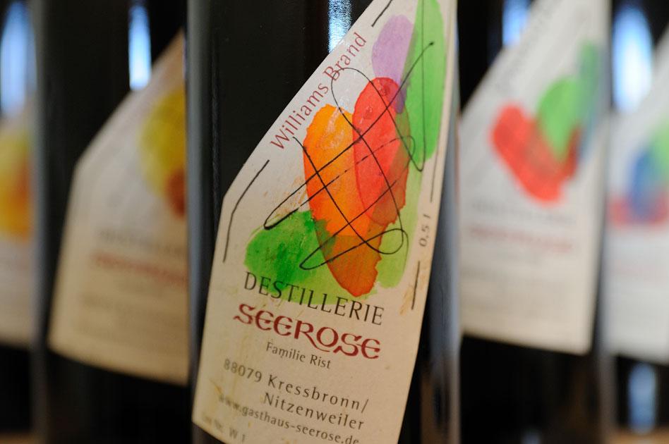 Williams Edelbrand - Destillerie & Brennerei Seerose