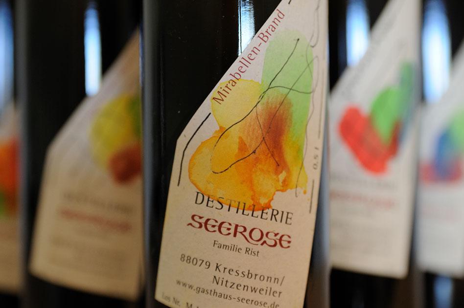 Mirabellen Brand - Destillerie & Brennerei Seerose