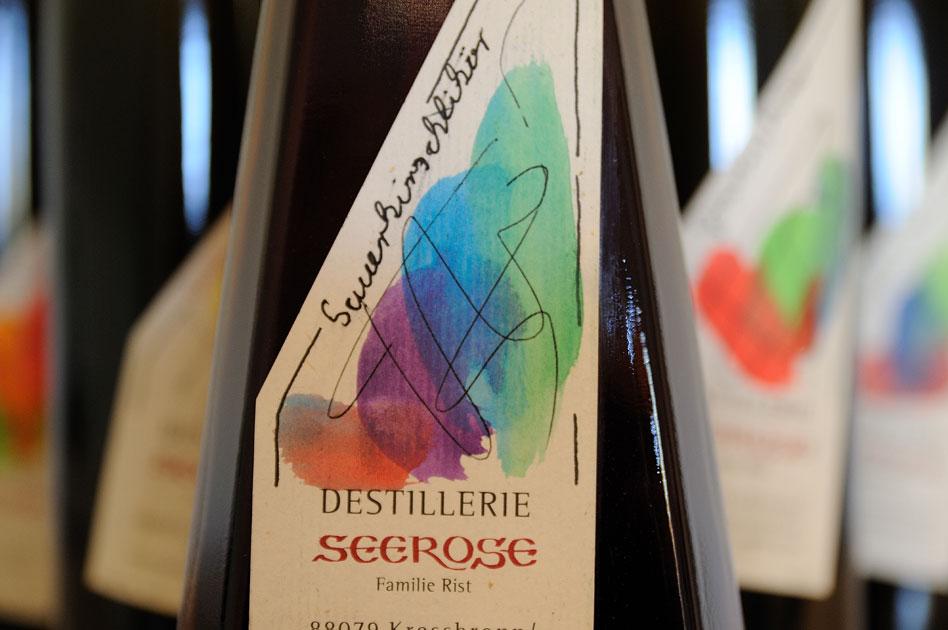 Sauerkirschen Likör - Destillerie & Brennerei Seerose