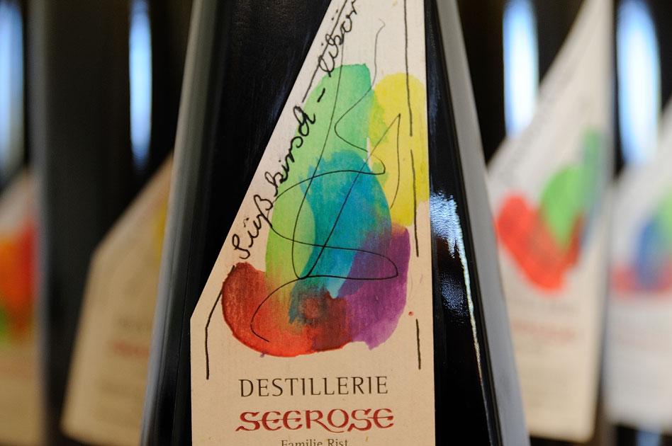 Süßkirschen Likör - Destillerie & Brennerei Seerose