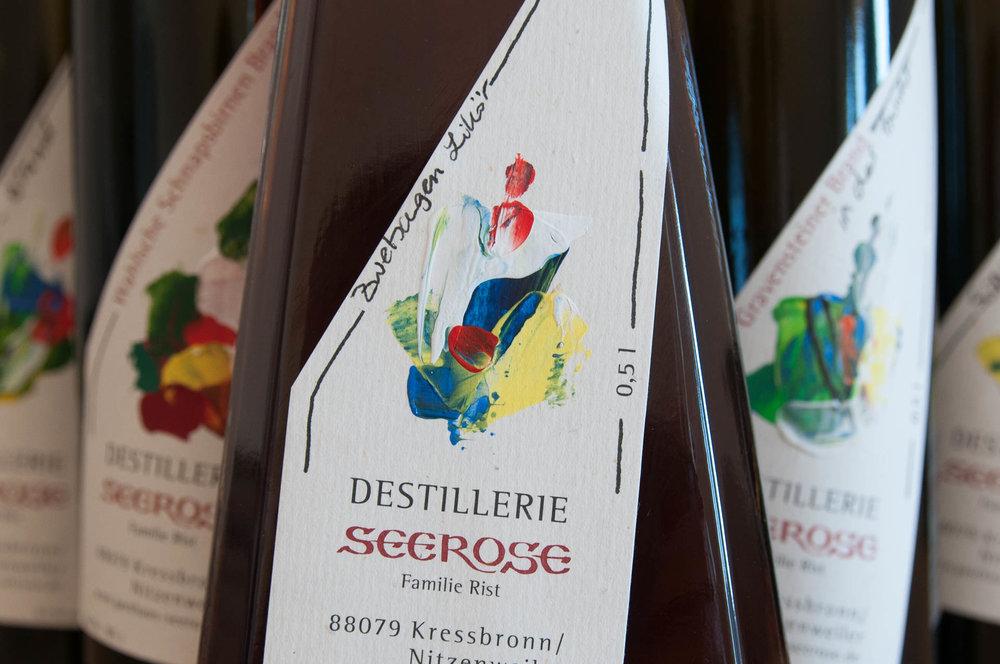 Zwetschgen Likör - Destillerie & Brennerei Seerose