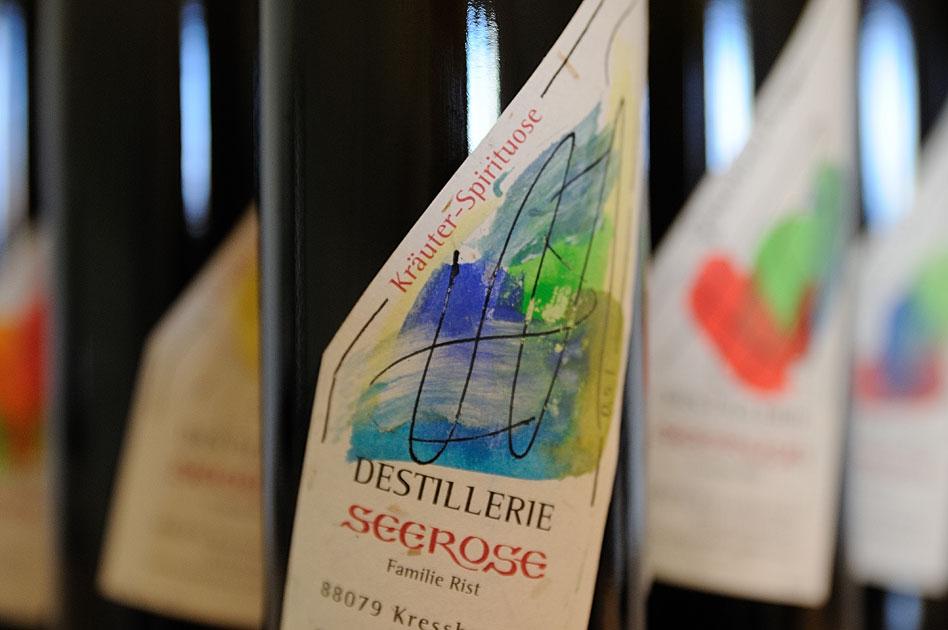 Kräuter Spirituose - Destillerie & Brennerei Seerose