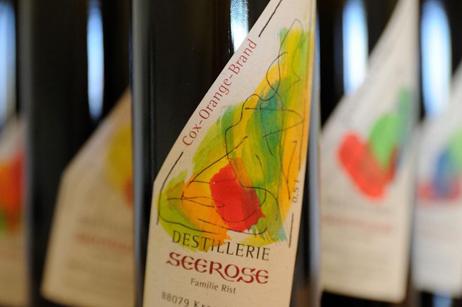Cox Orange Edelbrand - Destillerie & Brennerei Seerose