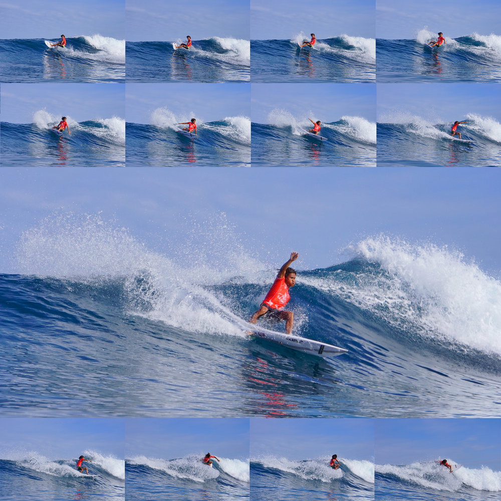 John Mark Tokong, Philippines #4, taking us step-by-step to how it's done. This flawless performance won him the Reef Pro La-Union (final leg of PSCT) which gave Philmar Alipayo the national title.