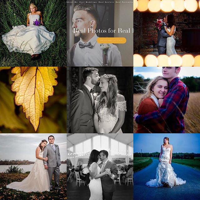 New website stuff and weddings, 2018 was a literal ton of fun! #2018bestnine