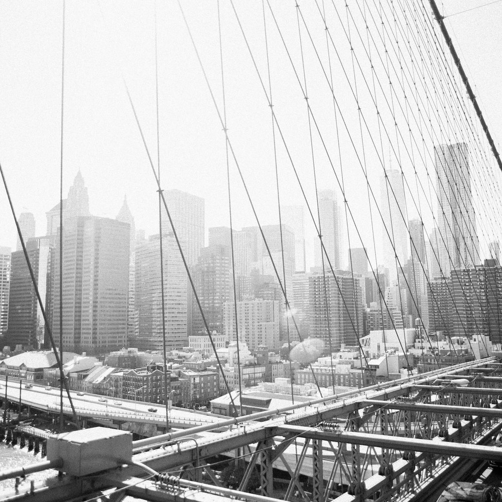 The Brooklyn Bridge - New York City