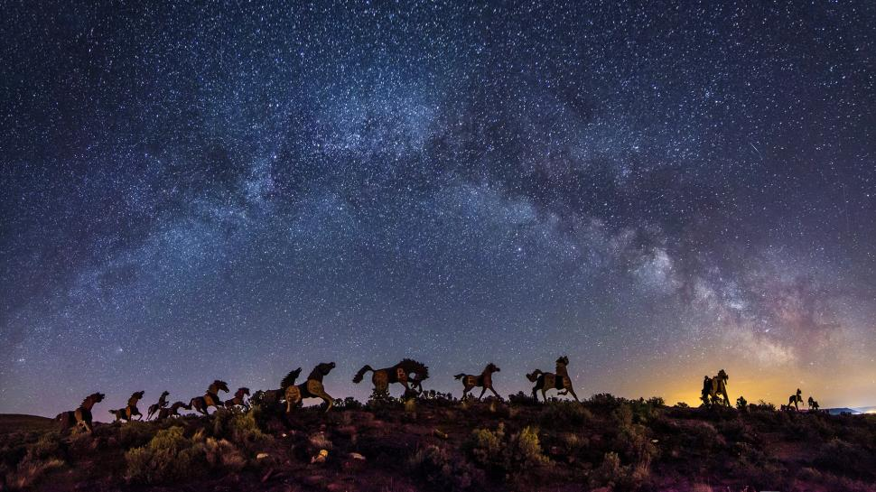 horse-statue-night-herd-galaxy-milky-way-stars-hd-1080P-wallpaper-middle-size.jpg