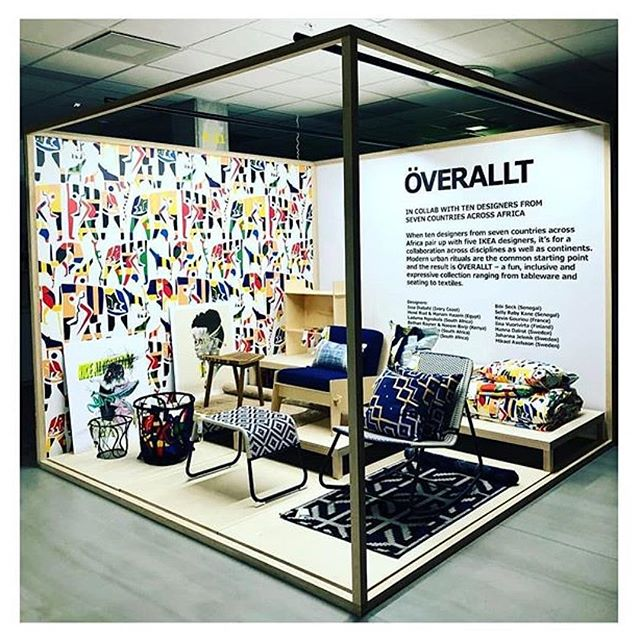 Our collaboration with IKEA for the Ikea Overallt collection will be available in stores globally from May 1st.