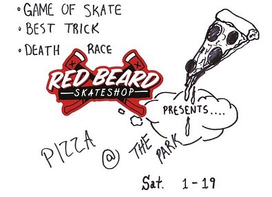 This Saturday at 5pm Pizza at The Park!!! Got some prizes to give out so see everyone there!