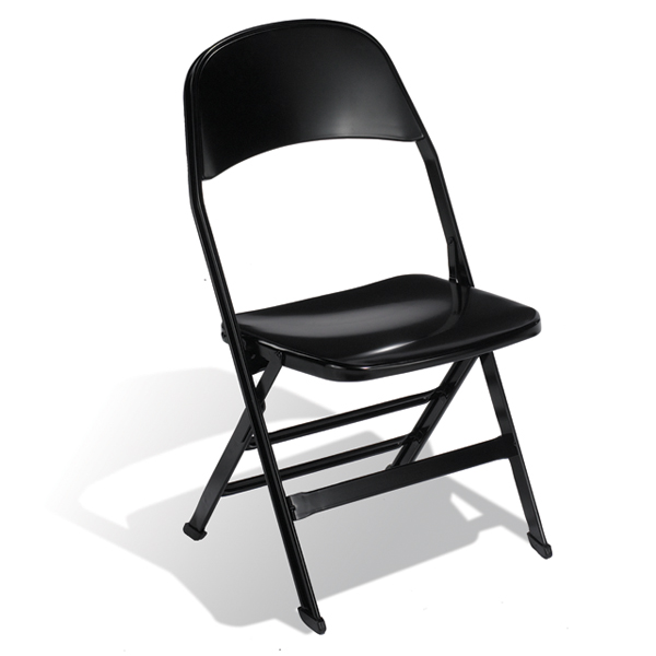 2000S  Designed for high-use areas, the all-steel folding chair is strong, durable and compact with a contoured seat.