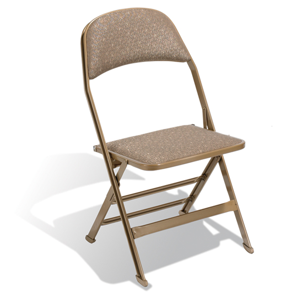 2617  A deeper, padded seat and seat back make the model 2617 the most comfortable folding chair in the 2000 Series.