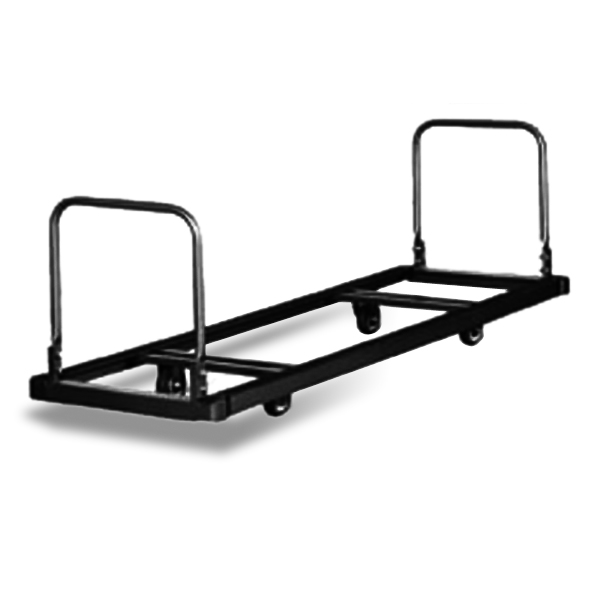 Flat Cart (CT/UCT)  Available in four sizes, the flat stack carts work well in facilities that want to store chairs under a stage.