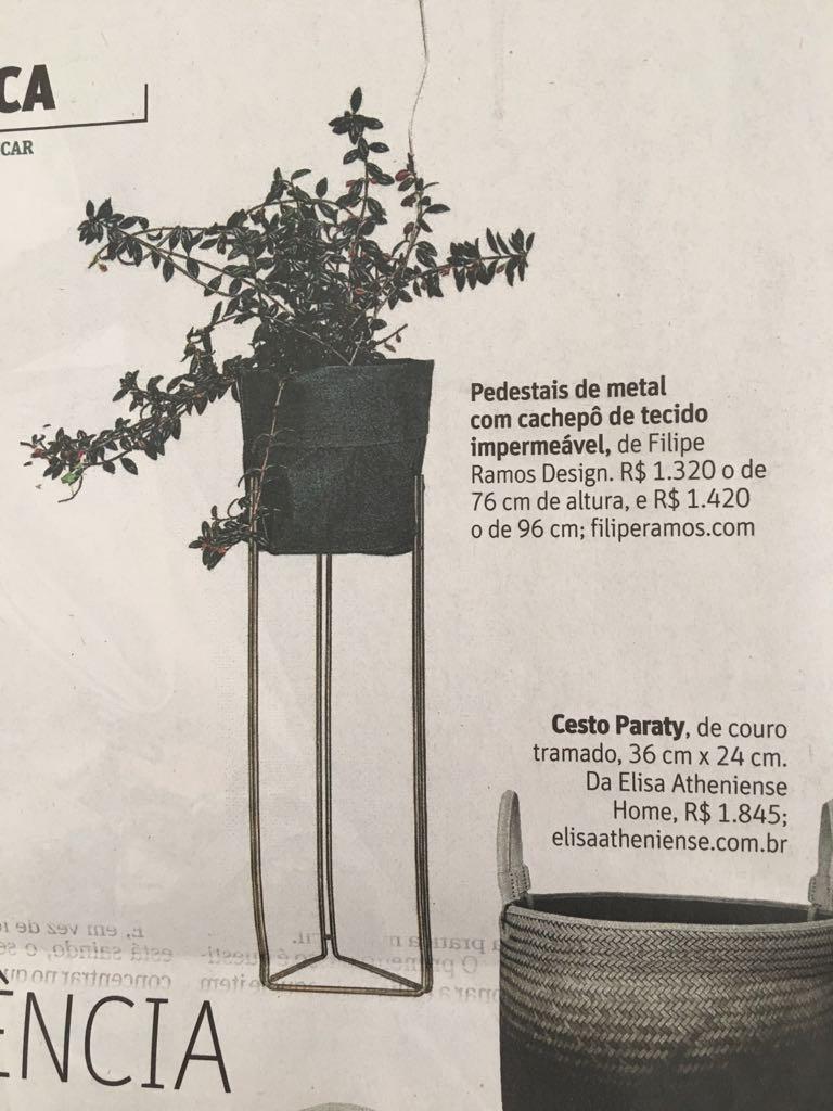 FOLHA DE SP - SOBRE TUDO - FILIPE RAMOS DESIGN - PEDESTAL CACHEPOT (4).JPG