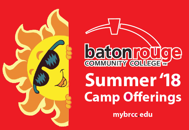 For More Summer Camp Information: - Email: workforceeducation@mybrcc.edu              Phone: (225) 216 - 8239                                            Fax: (225) 216 - 8237                                         Mailing Address:  Workforce Education3250 N. Acadian Thruway E.,                            Baton Rouge, LA 70805