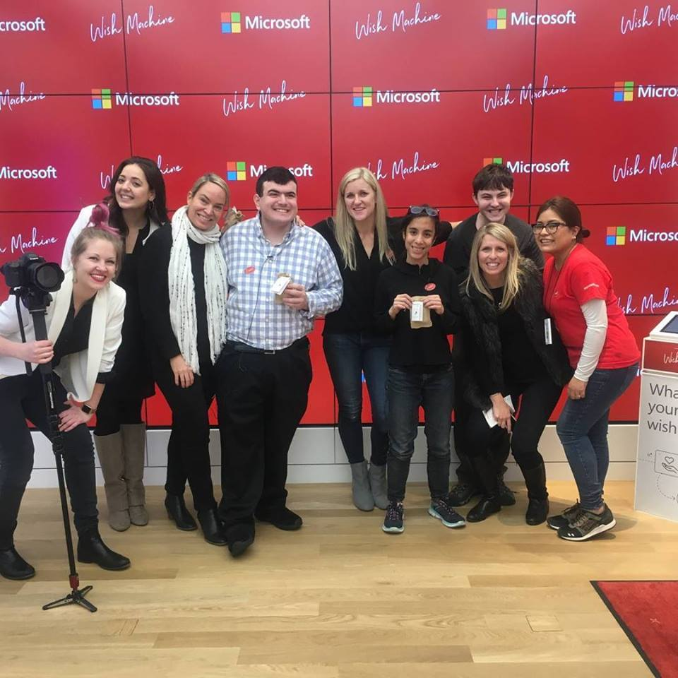 Alison Berkley and the Invictus Team @ Microsoft