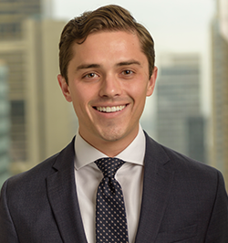 Alex joined Dowling Hales in 2016. He previously worked at Swiss Re in its Business Development unit, where he advised on corporate finance and capital management driven reinsurance transactions for the company's global P&C clients. Prior to Swiss Re, Alex was an analyst at JP Morgan Chase & Co. Alex graduated magna cum laude from The Florida State University with a double major in Finance and Applied Economics. Alex is registered with FINRA as a Limited Representative - Investment Banking (Series 79).