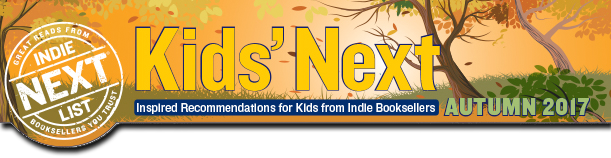 Kids Indie Next choice for Autumn 2017