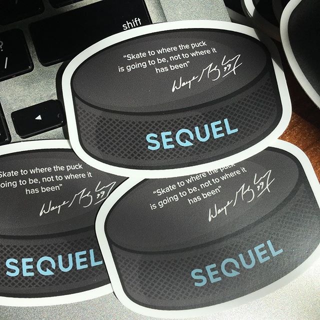 Sequel stickers are making their way out into the world the next few weeks! Where will they go? Stay tuned! #swag #sequelswag #startuplife #realestatetech