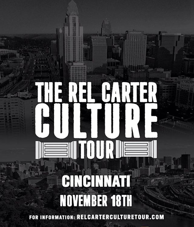 The Rel Carter Culture Tour is live from @prvlgdcincy Tonight! See you soon Cincy! #cincinnatimusic #relcarterculturetour #carterboys 🔑