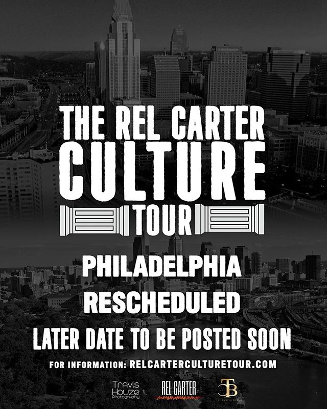 We love you madly Philadelphia!  Major things are in play for 2018 😈 Stay Tuned ☝🏽 #relcarterculturetour #philadelphia