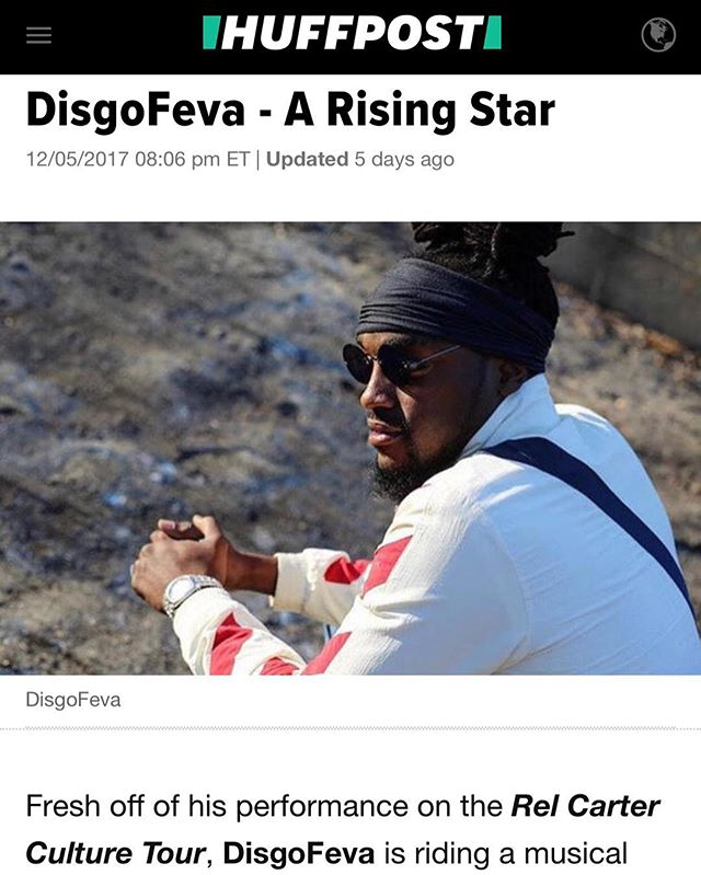 S/o to Culture Tour artist @disgofeva for his recent feature in @huffpost 🔥🔥🔥Stay tuned for brand new updates and announcements. #relcarterculturetour