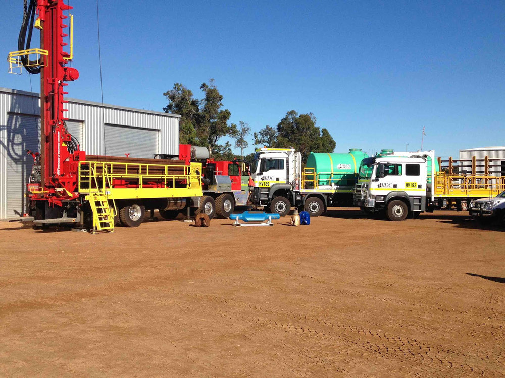 BDC's lineup of Versa-Drills is equipped to handle everything from mining to agricultural to industrial and town water supply sectors across Australia.
