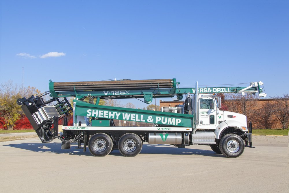 These Indiana drillers purchased a new water well rig this year, and they have been more than happy with its performance.
