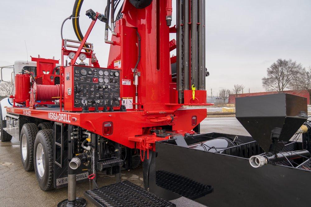 Versa-drill V-125X Control Panel