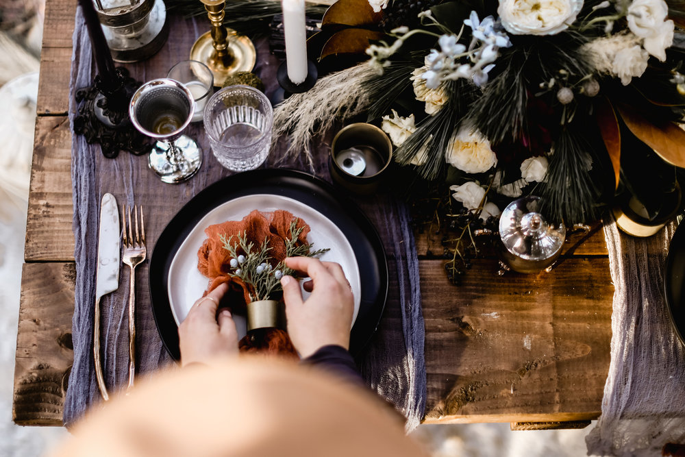 ELOPEMENTS - You set up all the travel details for friends and family. And leave the design and styling up to us! We will help you create your dream elopement while being involved in the process.