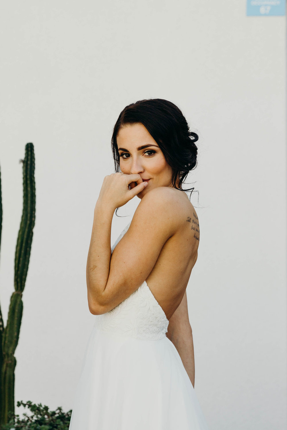 Rochelle + Neil - The Saguaro Hotel