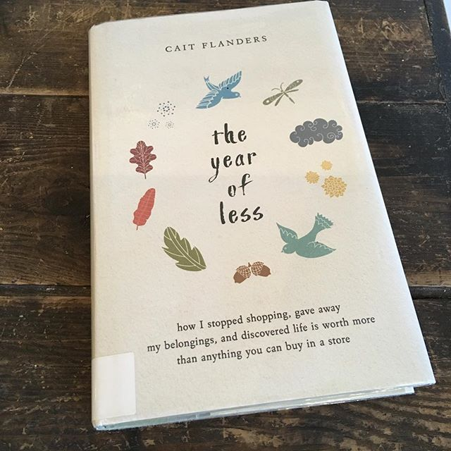A really great book about making the shift to mindful consumerism, being true to yourself and living better with less