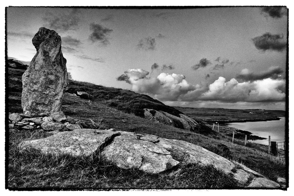 Stone Contemplates Sea
