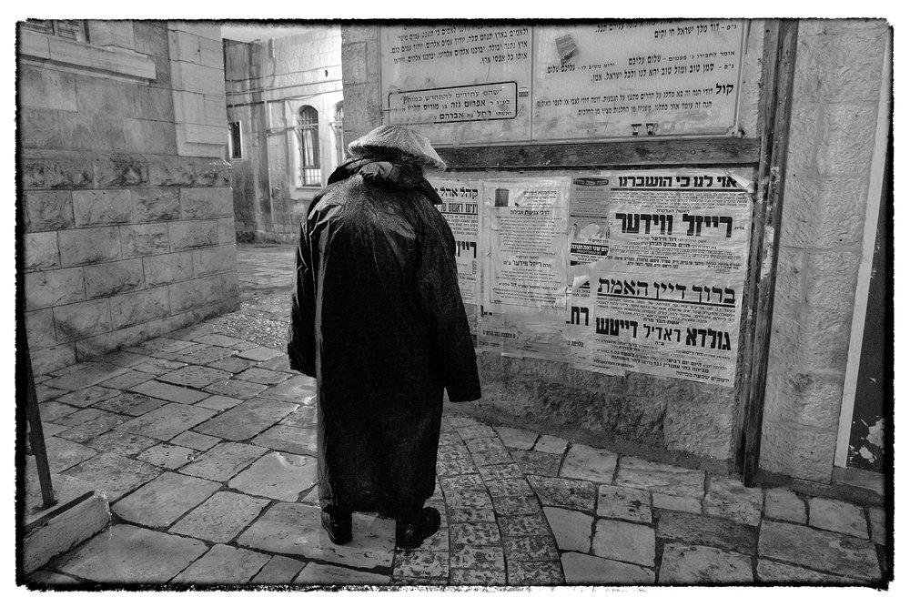 Rainy Night, Mea Shearim, Jerusalem