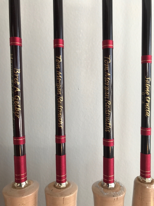 Inscription - Our calligrapher Beth writes on each rod including an inscription of your choice, length/weight and serial number. Many customers choose to have their name, the name of a ranch, a special event, etc. written on the rod. If you prefer to keep things simple, we can write