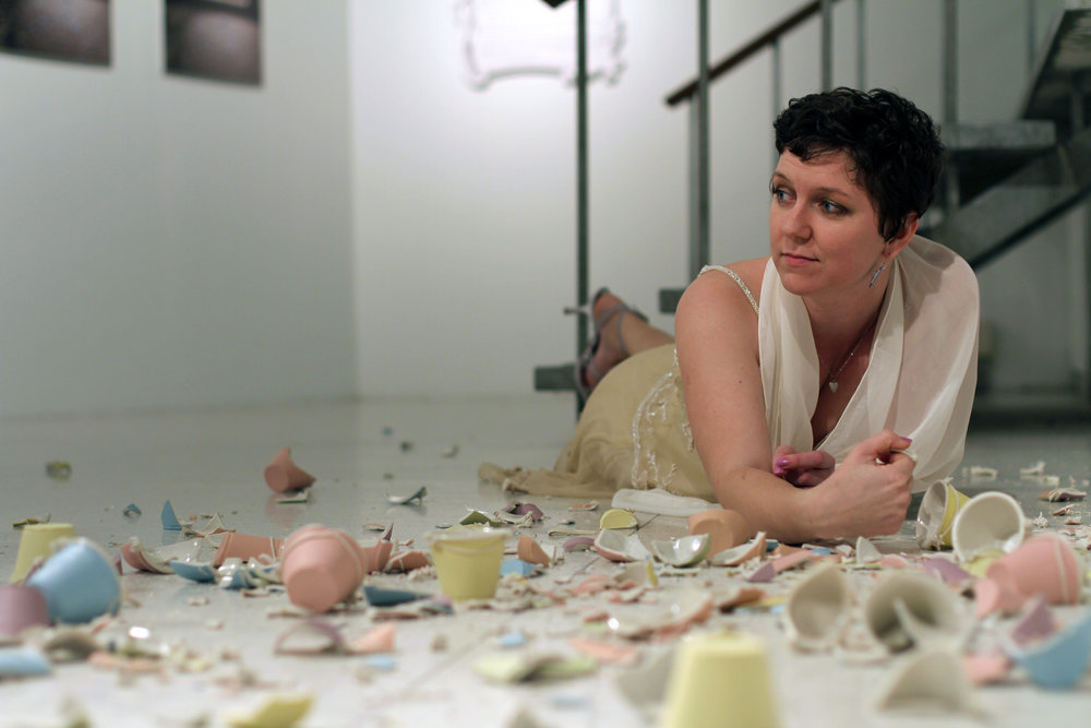 About the Artist - Lindsey Elsey is a professor of art and internationally exhibiting ceramic artist specializing in functional wares. She was born in Charleston, South Carolina. Lindsey earned her BFA in Studio Art from Appalachian State University, concentrating in both Ceramics and Metalsmithing & Jewelry Design, and her MFA in Visual Art from Clemson University in 2015. Since 2016, she has been adjunct professor of art at Wingate University, just south of Charlotte, NC. Both her writing and visual work have been featured in several magazines and catalogues, including Ceramics Monthly,the 3rd World International Ceramics Exhibitionin Beijing and a number of local and regional publications. Her work has been purchased for display in several galleries and conference centers throughout the southeast, as well as the Raffles Zorlu Centre in Istanbul, Turkey. Recently, Lindsey made her New York debut at the 2015 MFA National Exhibitionat First Street Gallery in the heart of the Chelsea district.