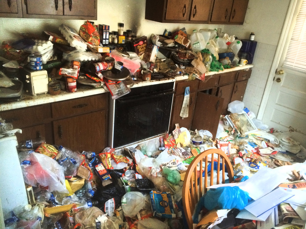 Hoarding Cleanup a hazardous situation