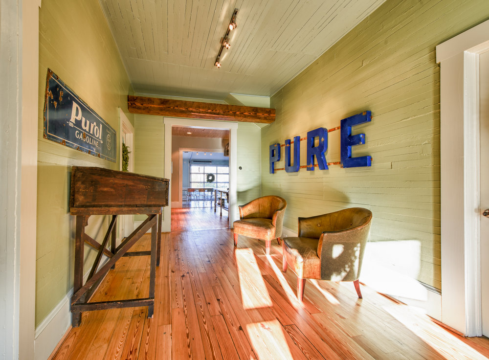 Next to PURE- Interior View- Entrance