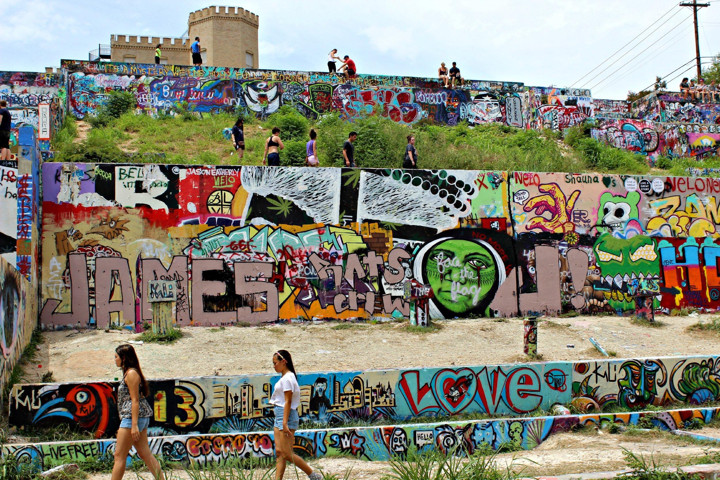 castle at graffiti hills
