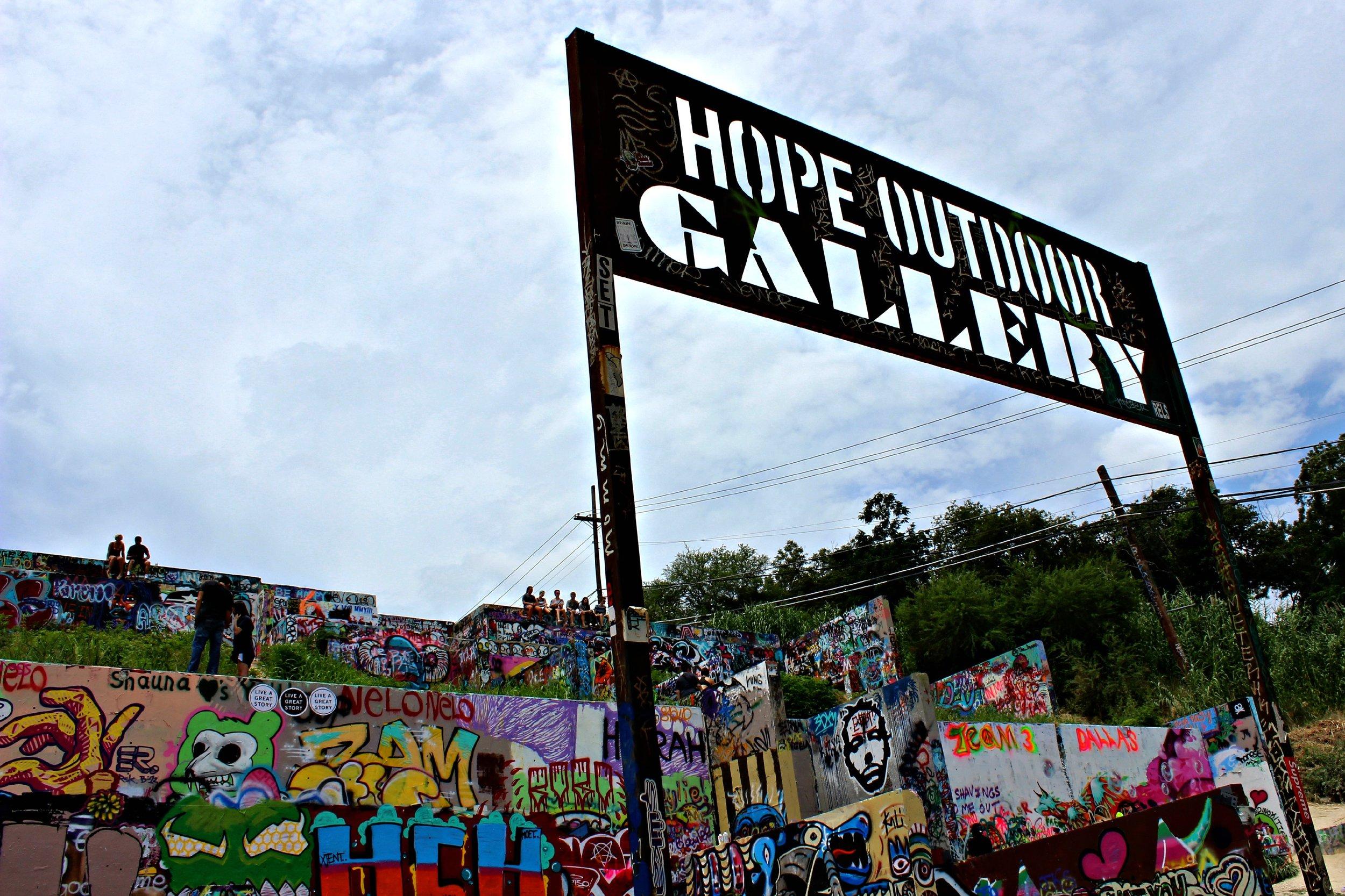 hope outdoor gallery