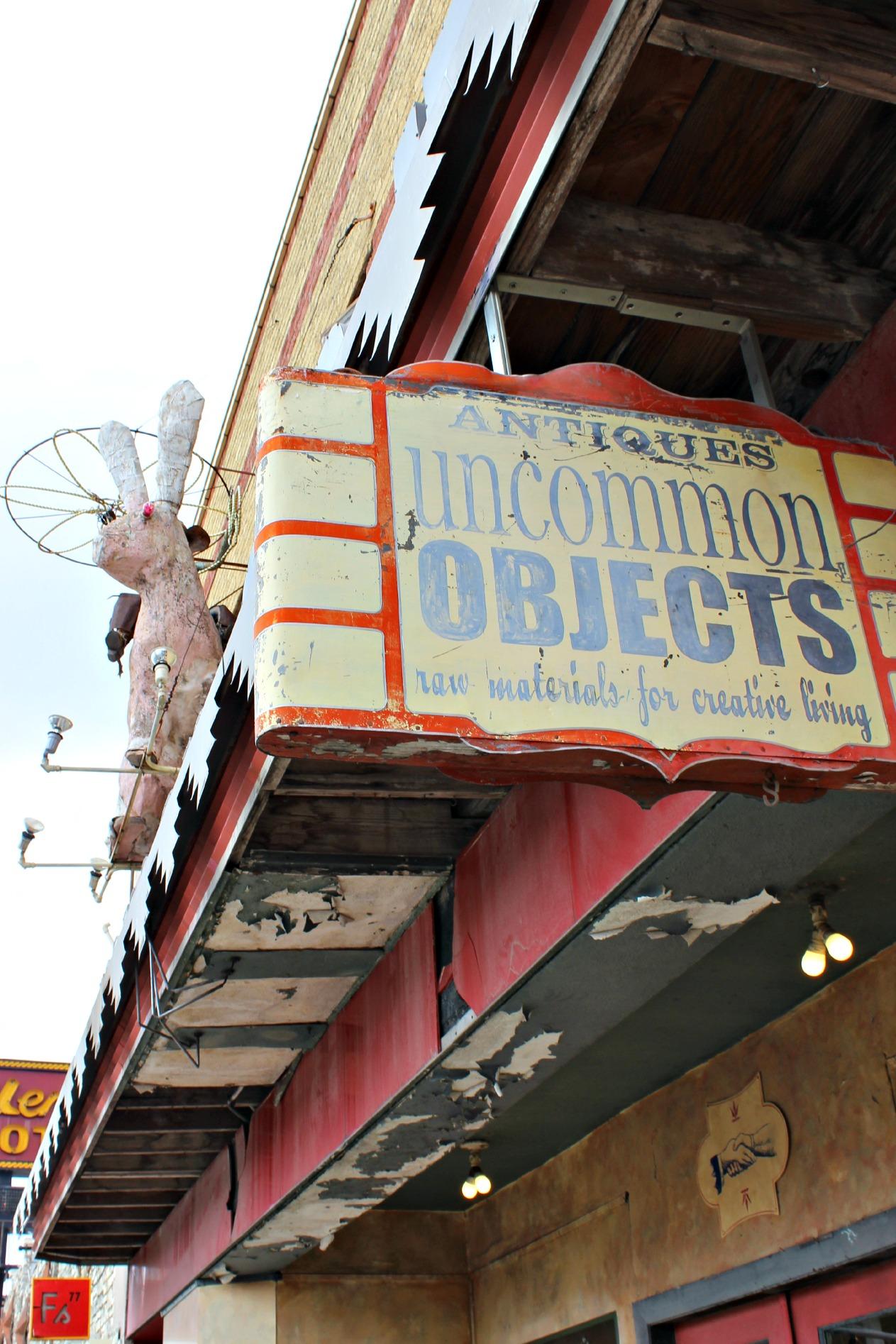uncommon objects austin