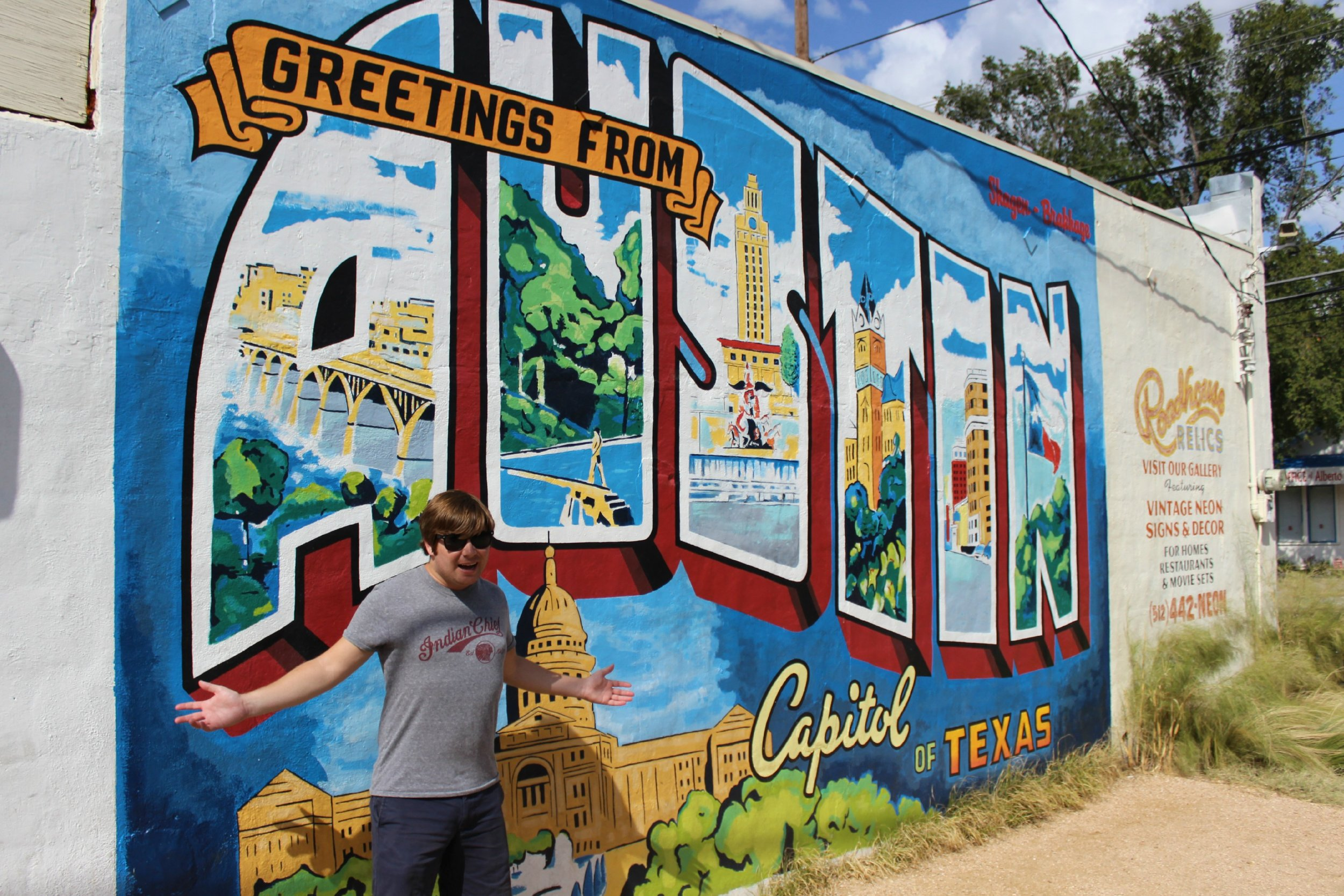 greetings from austin