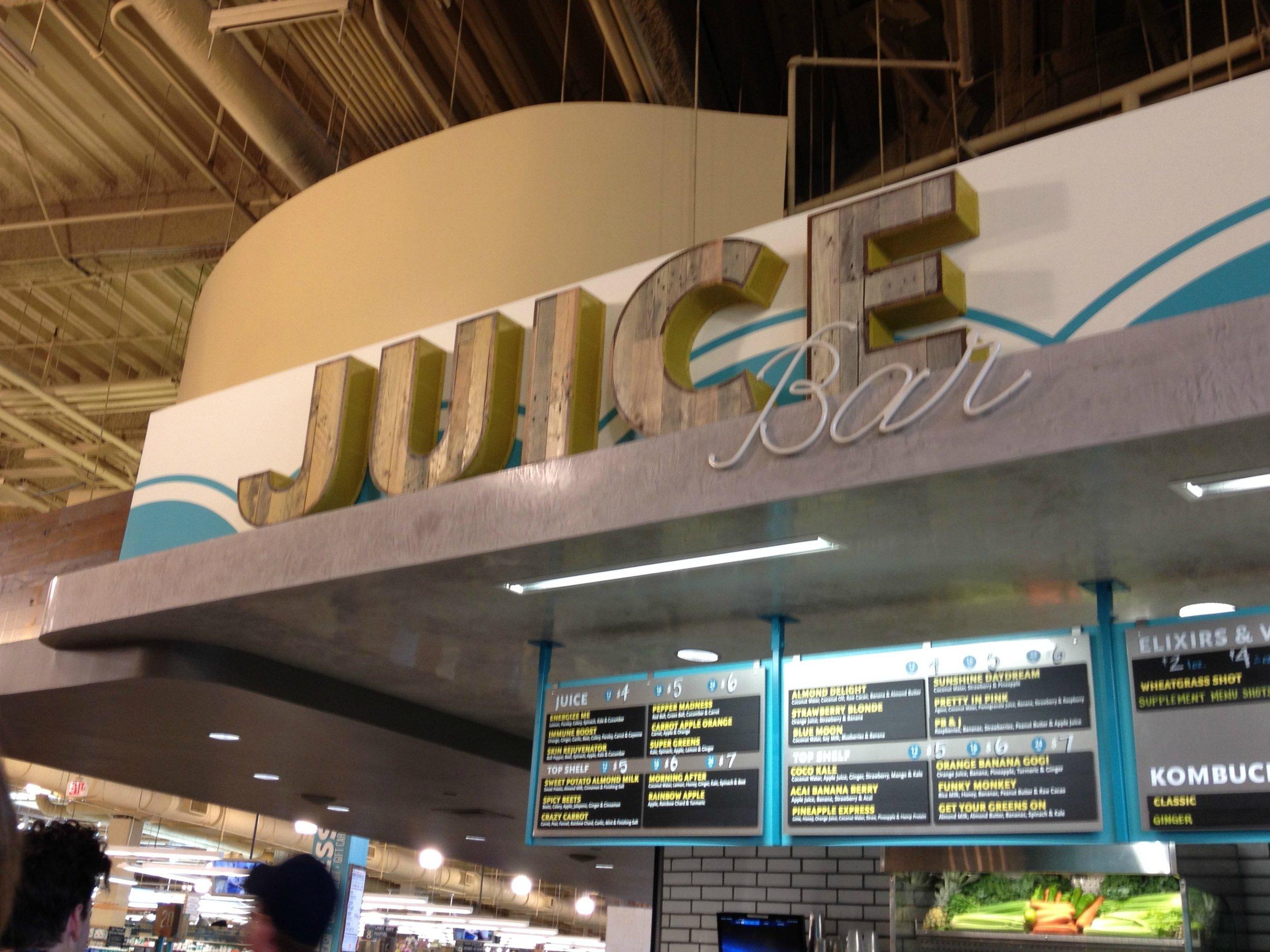 juice bar whole foods
