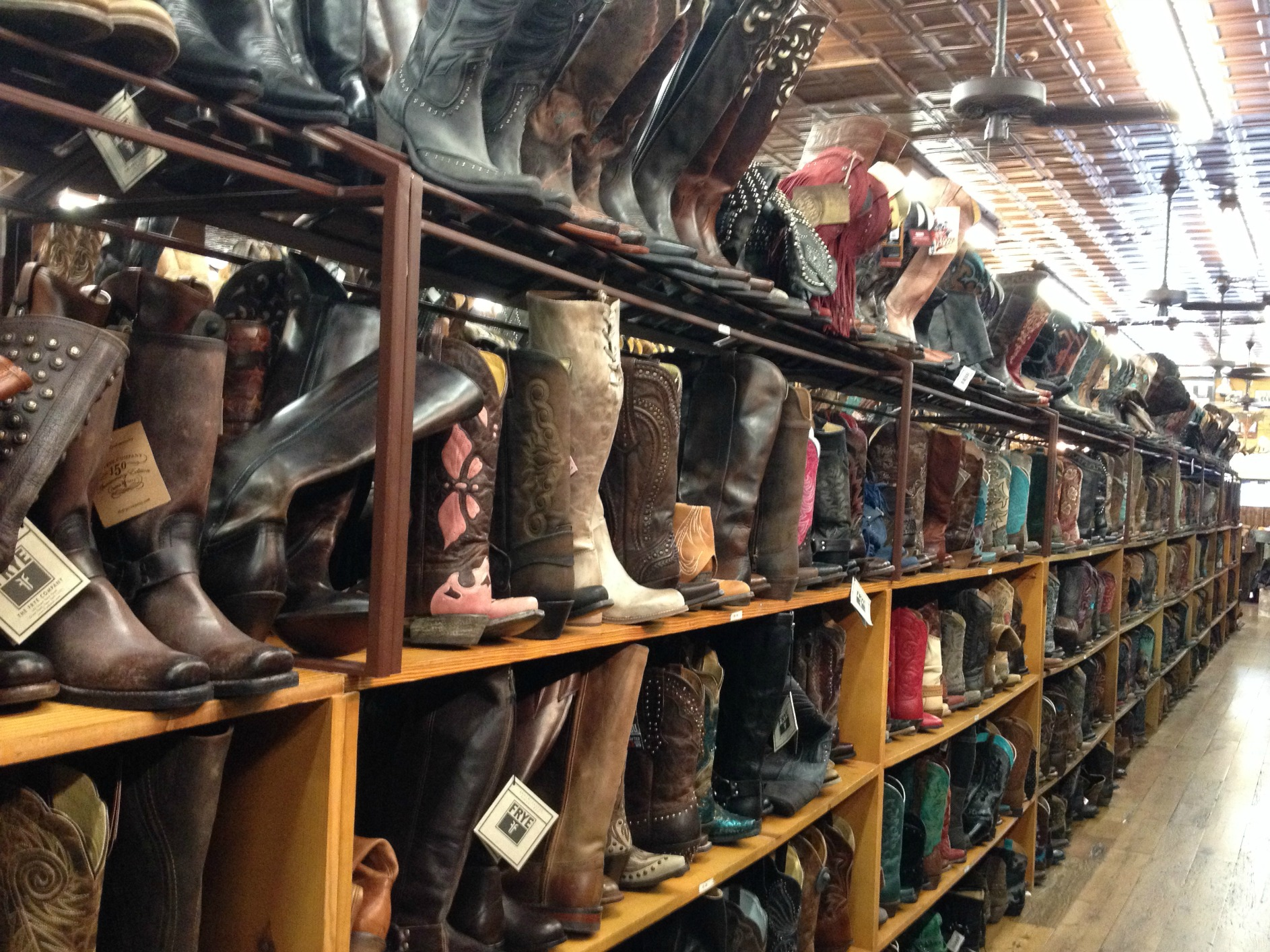 allen's boots austin