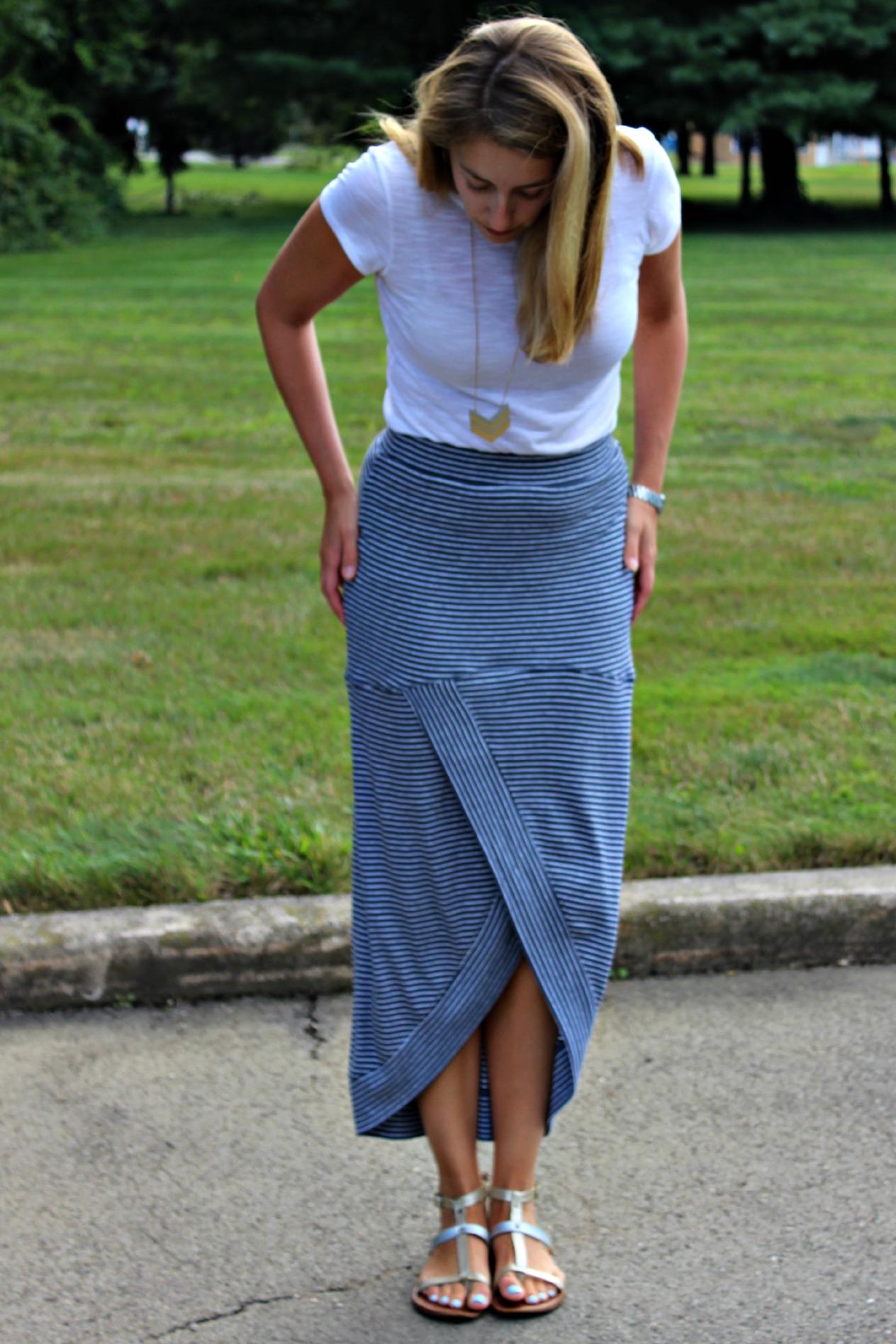 The Tulip Maxi Skirt
