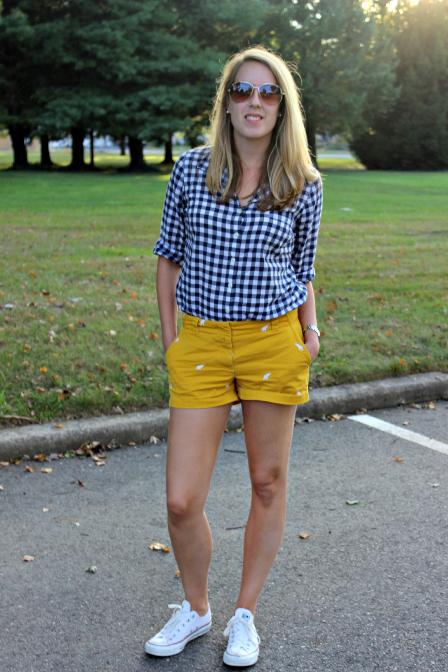 Fall Transition: Shorts and Sleeves