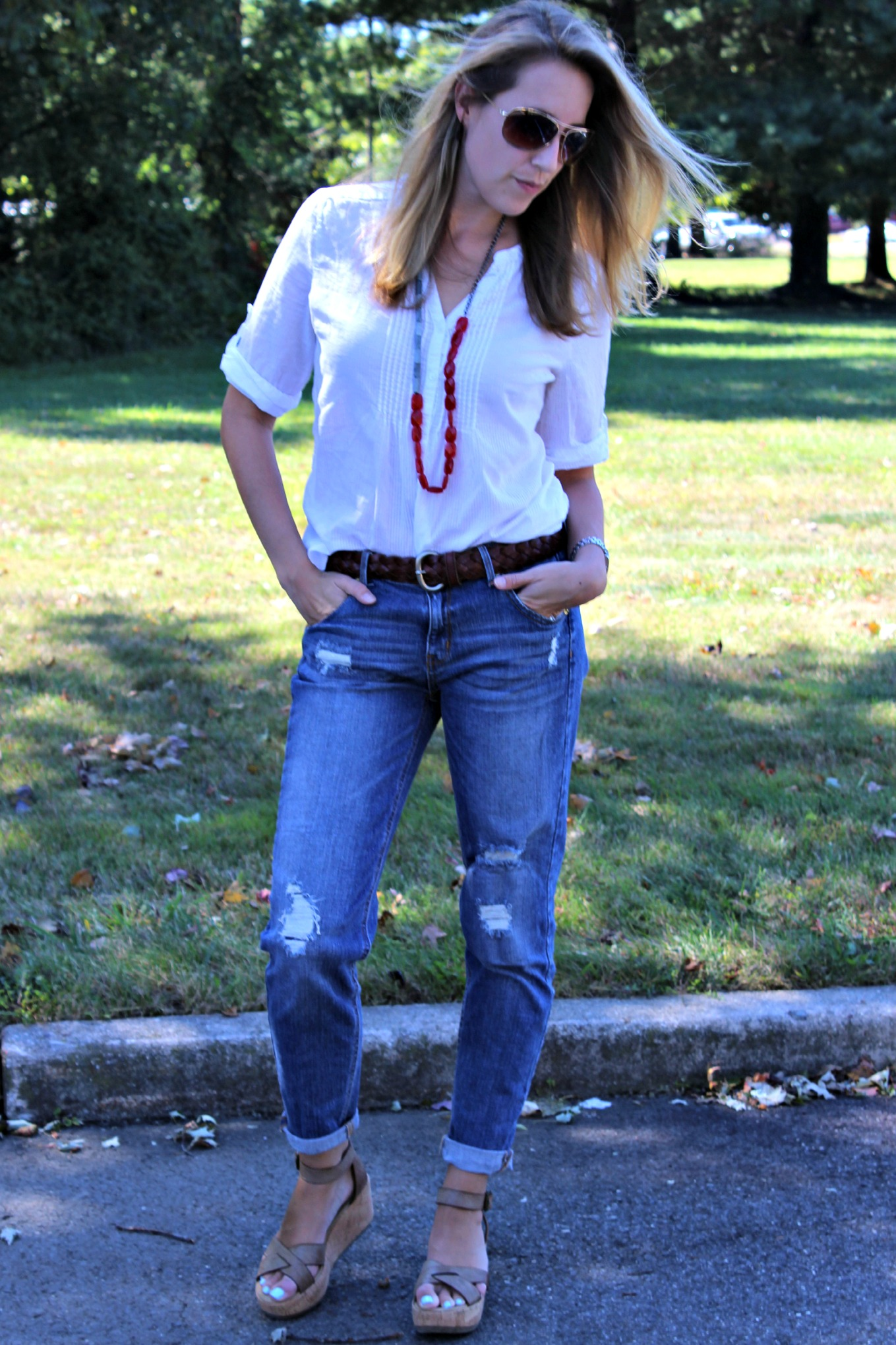 The In Between Fashion: Going From Summer to Fall