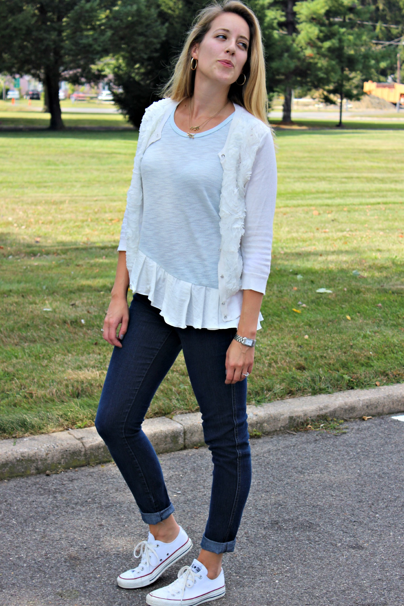 Wearing a Cloud: The Perfect Ruffled Tank